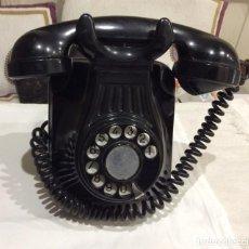Antigüedades: TELEFONO DE BAQUELITA. Lote 159970734