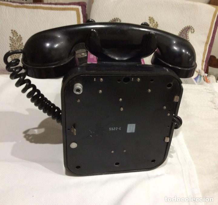 Antigüedades: TELEFONO DE BAQUELITA - Foto 2 - 159970734