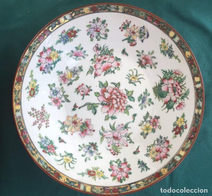 PLATO PORCELANA CHINA SIGLO XX (Antigüedades - Porcelanas y Cerámicas - China)