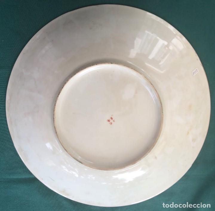 Antigüedades: Plato porcelana China Siglo XX - Foto 2 - 159997218