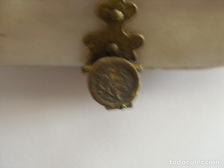 Antigüedades: Antiguo monedero concha S.XIX - XX - Foto 8 - 160034002
