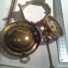 Antigüedades - ANTIGUO BRASERO BRONCE MINIATURA. figura - 160043910