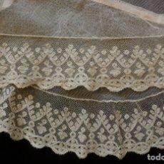 Antigüedades: ANTIGUA CAPELINA DE VALENCIENNES S. XIX. Lote 160037210