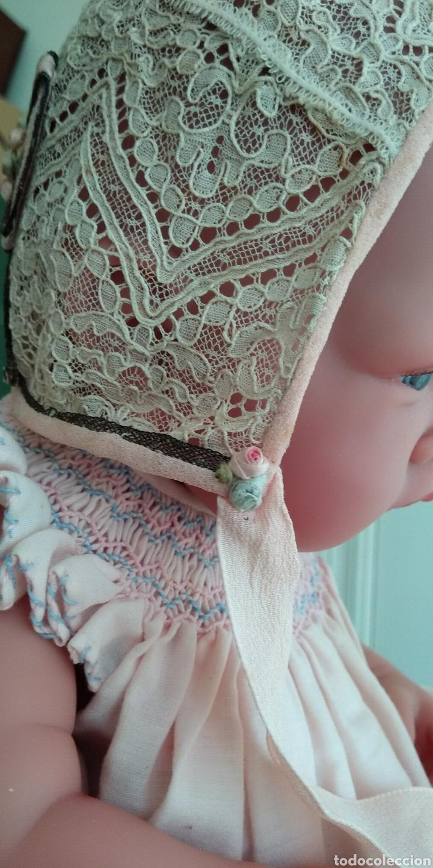 Antigüedades: Antiguo gorro para bebe - Foto 3 - 160085806