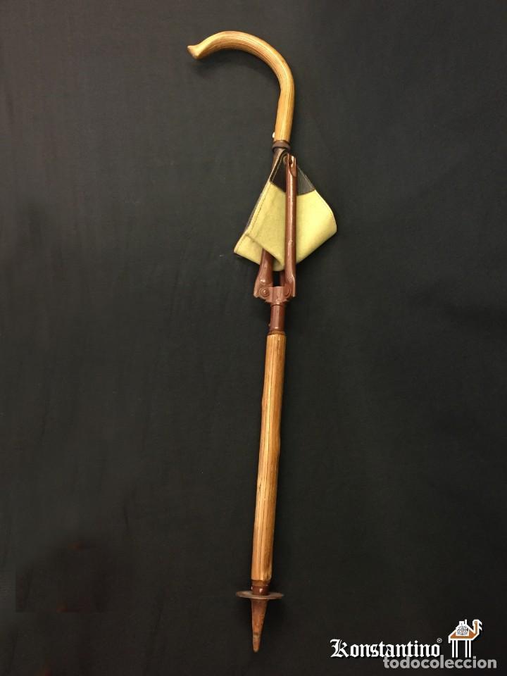 Antigüedades: Bastón de caza con asiento - Foto 2 - 160102646