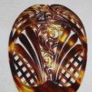 Antigüedades: PEINETA DE CAREY O SIMIL. PRINCIPIOS SIGLO XX. PERFECTO ESTADO DE CONSERVACIÓN. Lote 160127546