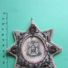 Antigüedades: RELICARIO DE LA SANTA FAZ DEL XIX. Lote 160130154