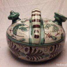 Precioso botijo cerámica Domingo Punter Teruel