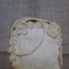 Antigüedades: BOLSITO LIMOSNERO DE PRIMERA COMUNIÓN. Lote 160156078