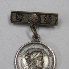 Antigüedades: MEDALLA SANTIAGO APOSTOL. TEMPLO COMPOSTELA. AÑOS SANTO 1965. Lote 160161410
