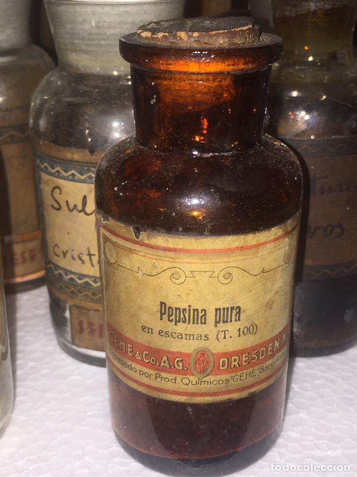Antigüedades: Colección antiguas 68 botellas de laboratorio - Foto 8 - 160184764