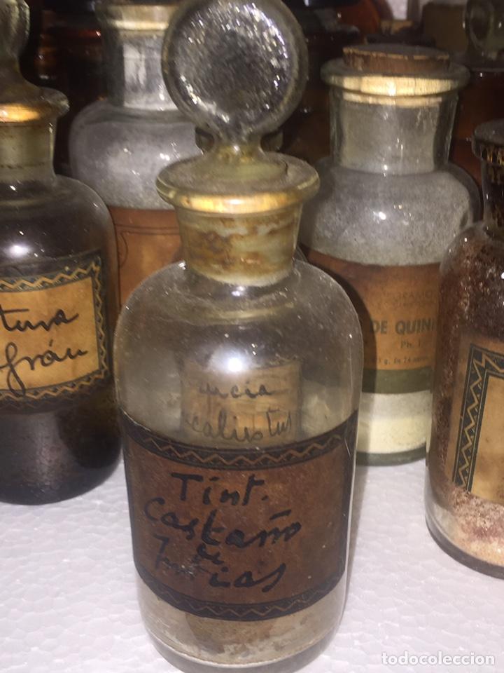 Antigüedades: Colección antiguas 68 botellas de laboratorio - Foto 20 - 160184764