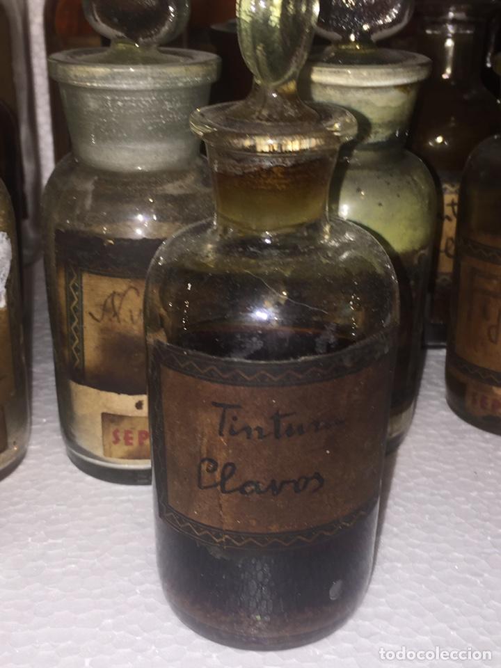 Antigüedades: Colección antiguas 68 botellas de laboratorio - Foto 23 - 160184764