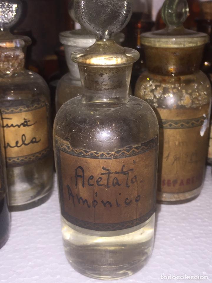 Antigüedades: Colección antiguas 68 botellas de laboratorio - Foto 25 - 160184764