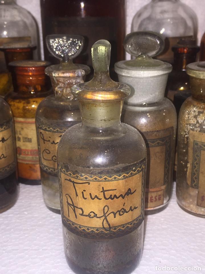 Antigüedades: Colección antiguas 68 botellas de laboratorio - Foto 31 - 160184764