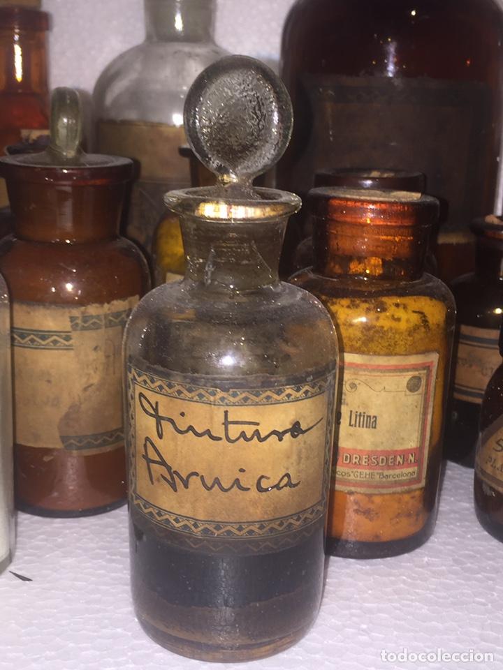 Antigüedades: Colección antiguas 68 botellas de laboratorio - Foto 51 - 160184764