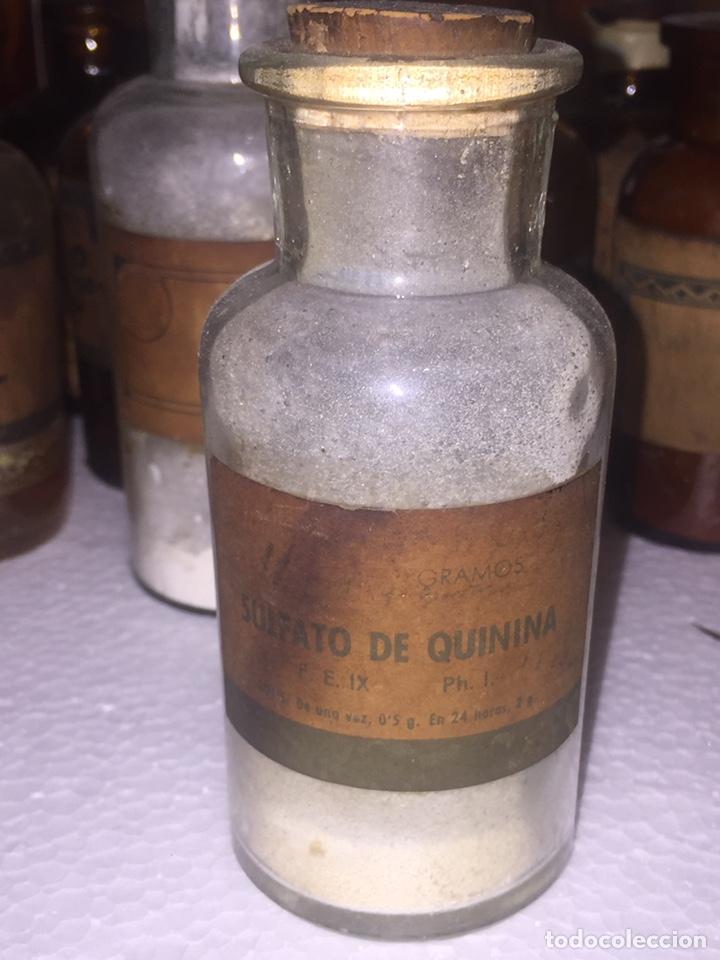 Antigüedades: Colección antiguas 68 botellas de laboratorio - Foto 52 - 160184764