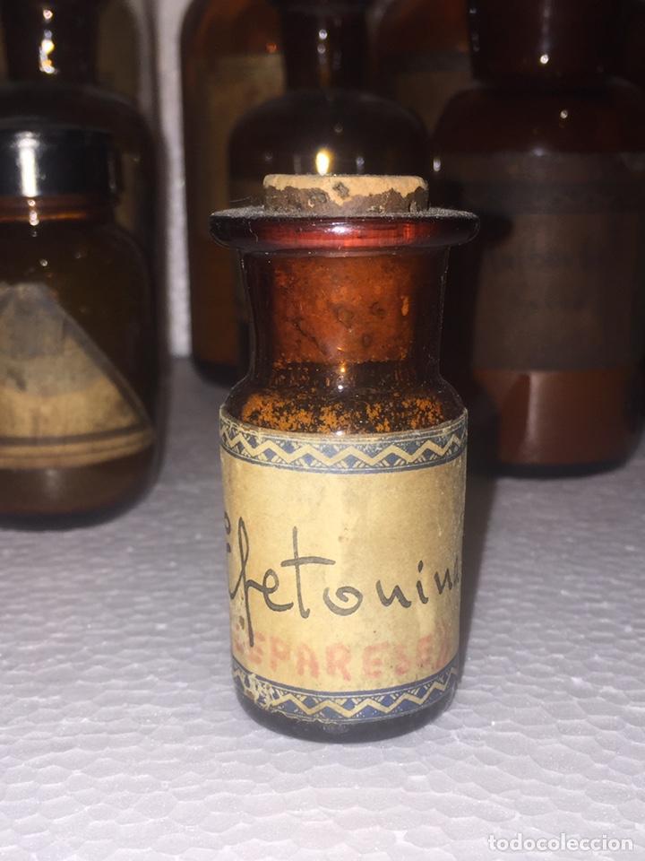 Antigüedades: Colección antiguas 68 botellas de laboratorio - Foto 56 - 160184764