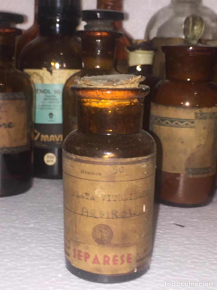 Antigüedades: Colección antiguas 68 botellas de laboratorio - Foto 60 - 160184764