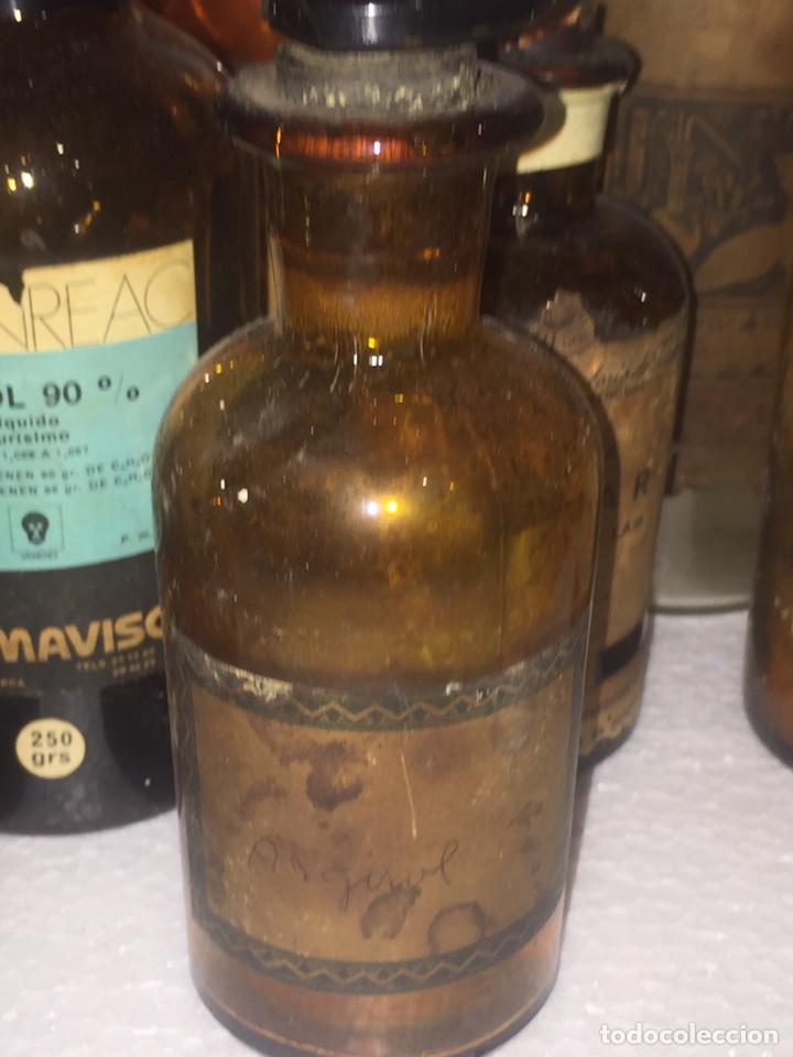 Antigüedades: Colección antiguas 68 botellas de laboratorio - Foto 66 - 160184764