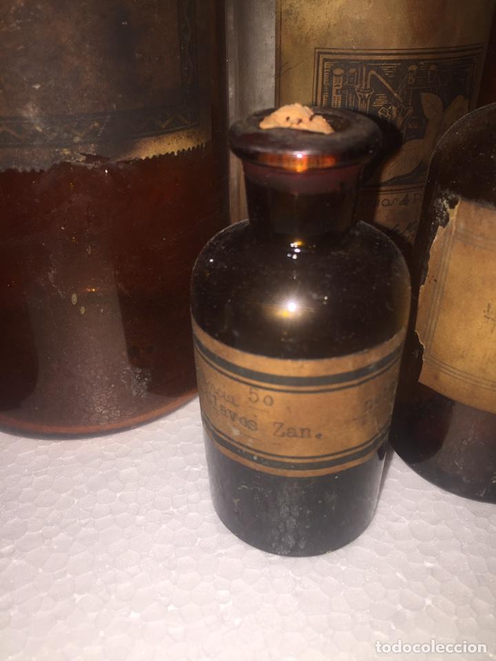 Antigüedades: Colección antiguas 68 botellas de laboratorio - Foto 72 - 160184764