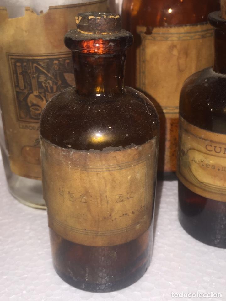 Antigüedades: Colección antiguas 68 botellas de laboratorio - Foto 77 - 160184764