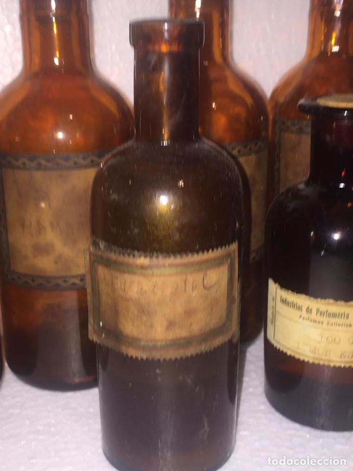 Antigüedades: Colección antiguas 68 botellas de laboratorio - Foto 79 - 160184764