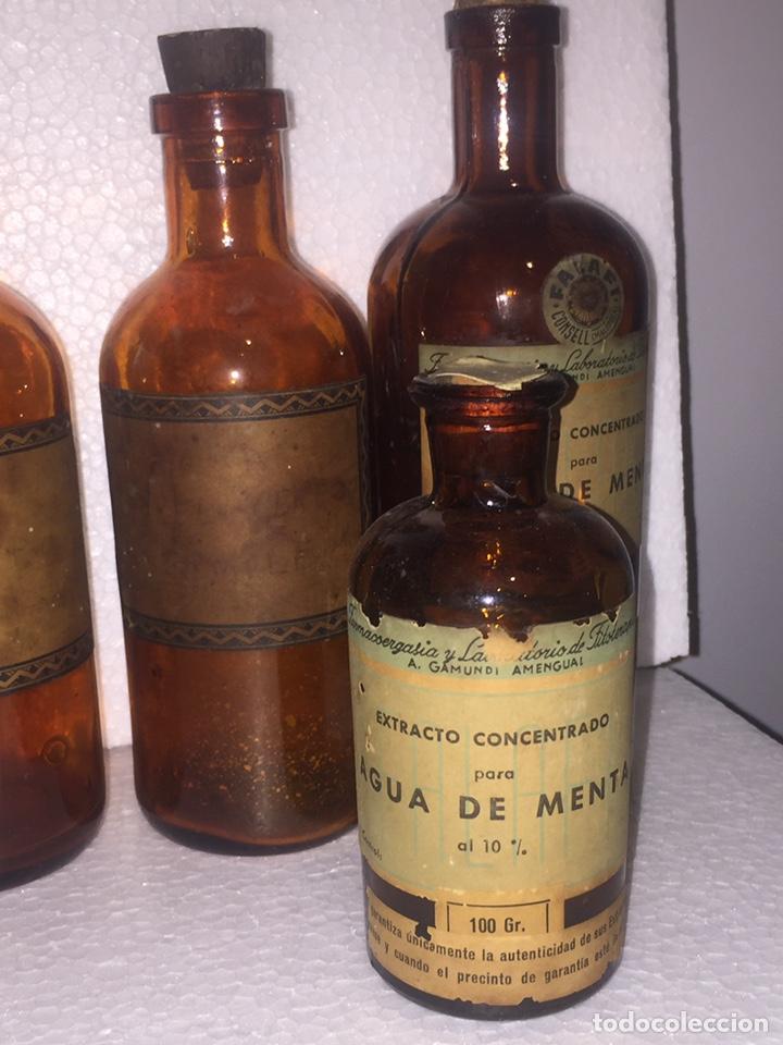 Antigüedades: Colección antiguas 68 botellas de laboratorio - Foto 81 - 160184764