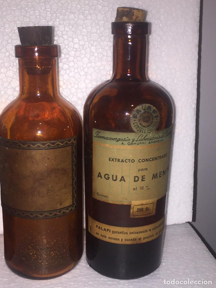 Antigüedades: Colección antiguas 68 botellas de laboratorio - Foto 86 - 160184764