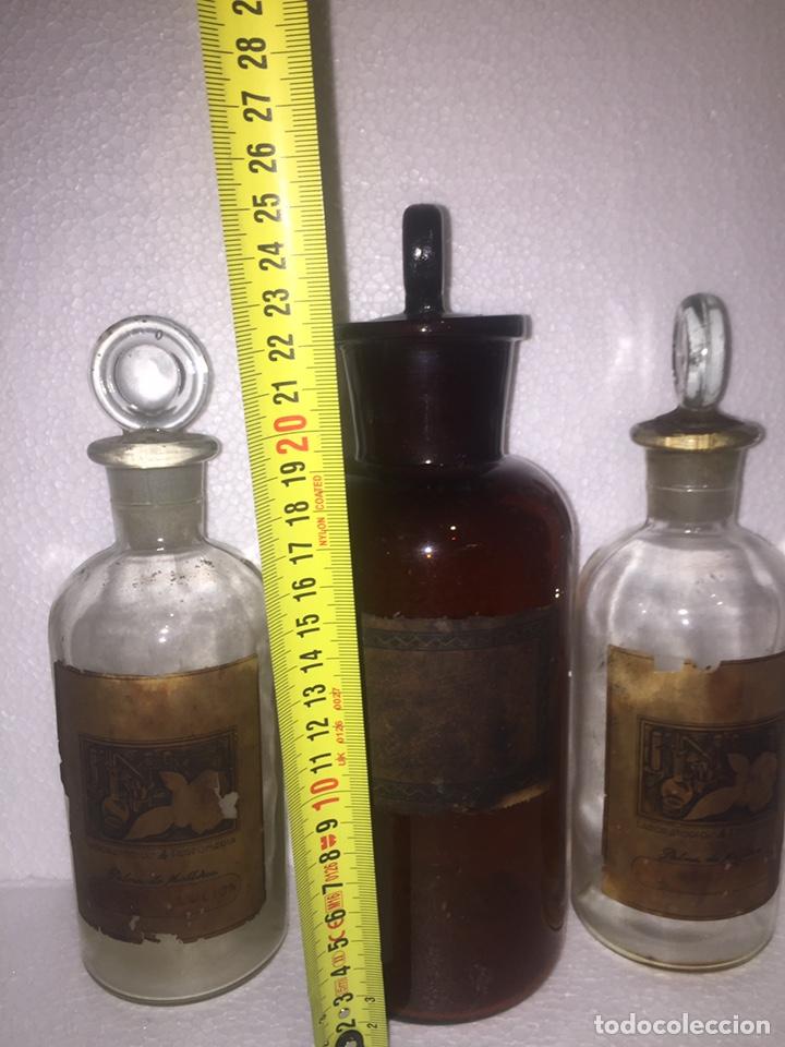 Antigüedades: Colección antiguas 68 botellas de laboratorio - Foto 88 - 160184764