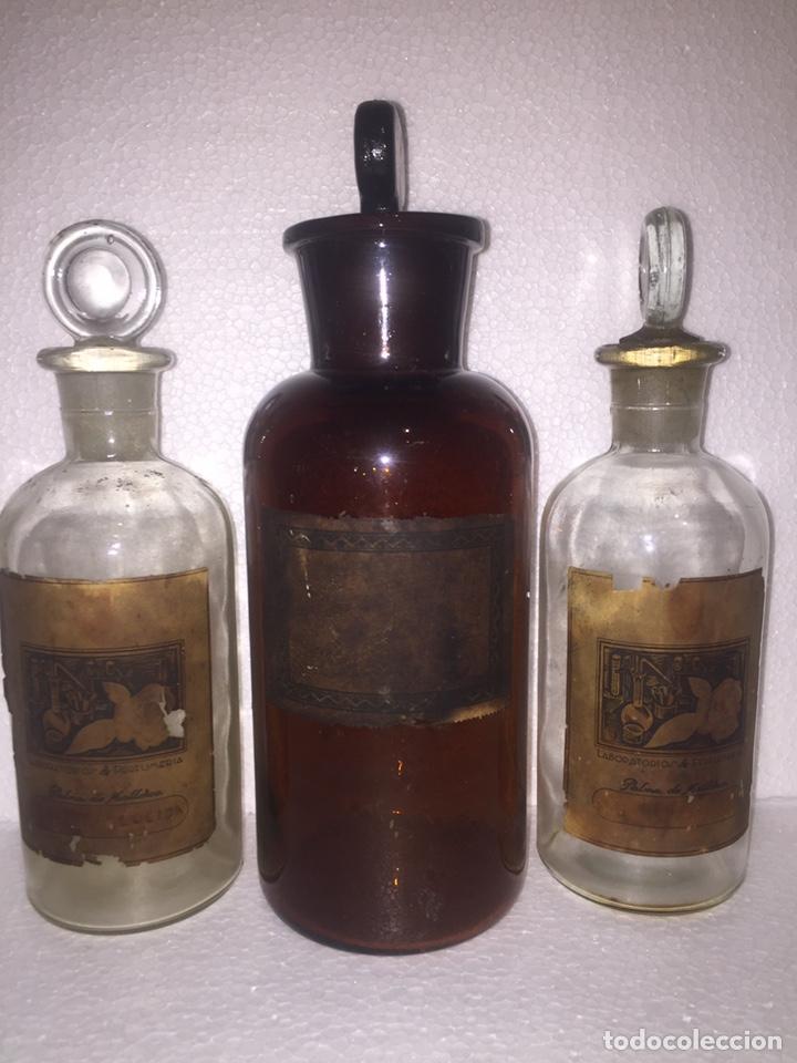 Antigüedades: Colección antiguas 68 botellas de laboratorio - Foto 91 - 160184764