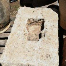 Antigüedades: PILETA DE PIEDRA DE 64 CMS. DE LONGITUD Y 27 DE ALTURA Y 45 DE ANCHA . Lote 160185974