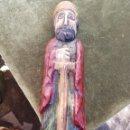 Antigüedades: ANTIGUA TALLA DE MADERA DEL REY FERNANDO EL CATOLICO. Lote 160220673
