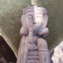 Antigüedades: ANTIGUA TALLA DE MADERA REY DON FERNANDO. Lote 160221312