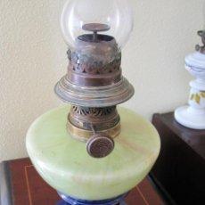 Antigüedades: ANTIGUA LAMPARA QUINQUE DE ACEITE . Lote 160226518