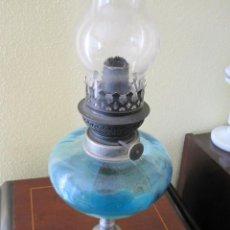 Antigüedades: ANTIGUA LAMPARA QUINQUE DE ACEITE. Lote 160227070