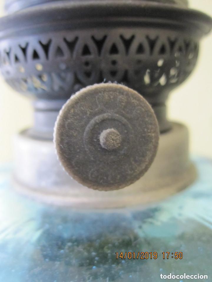 Antigüedades: antigua lampara quinque de aceite - Foto 3 - 160227070