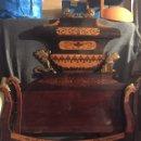 Antigüedades: CAMA FERNANDINA DE CAOBA CON MARQUETERIA. Lote 160231613