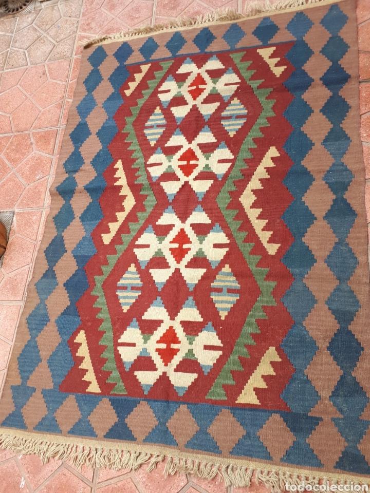 KELME HECHO A MANO ORIGEN TURQUEA (Antigüedades - Hogar y Decoración - Alfombras Antiguas)