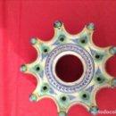 Antigüedades: TINTERO CERAMICA DE TRIANA , MEDIDAS 23 CENTIMETROS X 11 ' 5 CENTIMETROS DE ALTURA . Lote 160282282