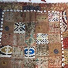 Antigüedades: ANTIGUO ALFOMBRA TAPIZ PATCHWORK ETNICO. Lote 160286486