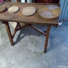 Antigüedades: TABLAS DE QUESO. Lote 160306165