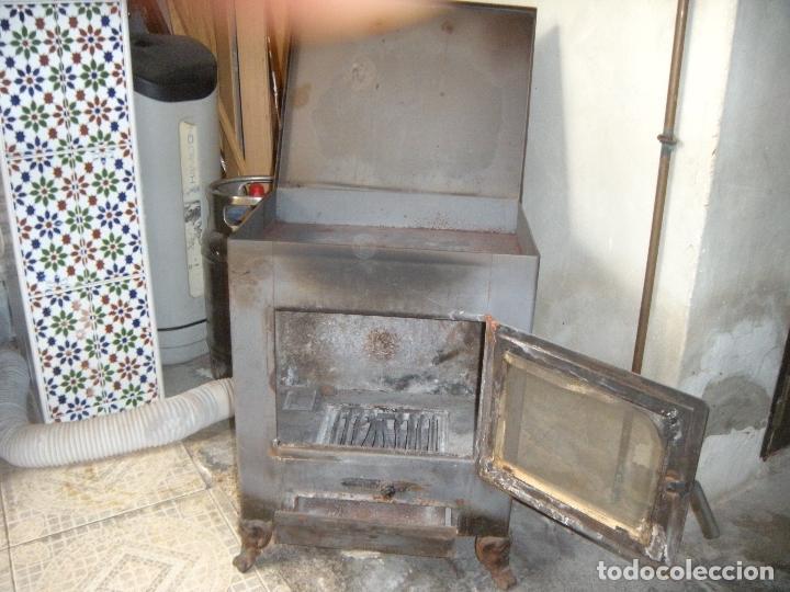Antigüedades: ESTUFA DE LEÑA - Foto 4 - 160316494