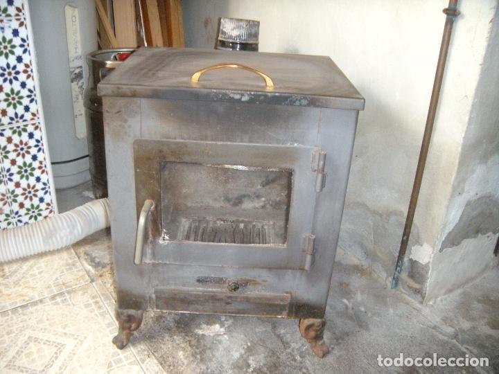 Antigüedades: ESTUFA DE LEÑA - Foto 5 - 160316494