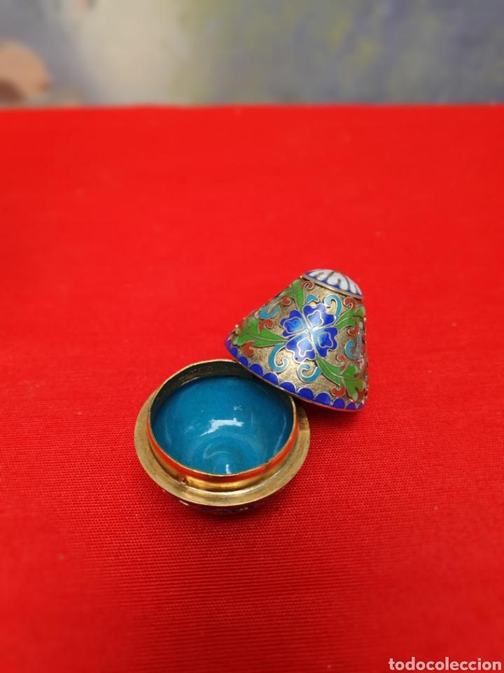 Antigüedades: Hermosa caja cloisonné - Foto 3 - 160321662