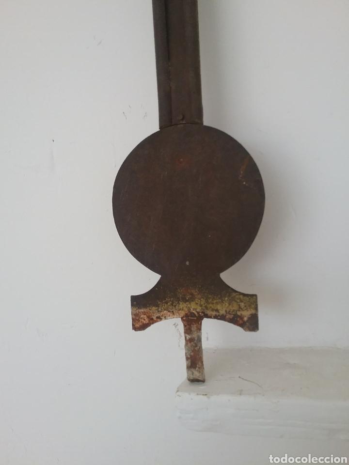 Antigüedades: Antigua cruz de forja. - Foto 2 - 178187471