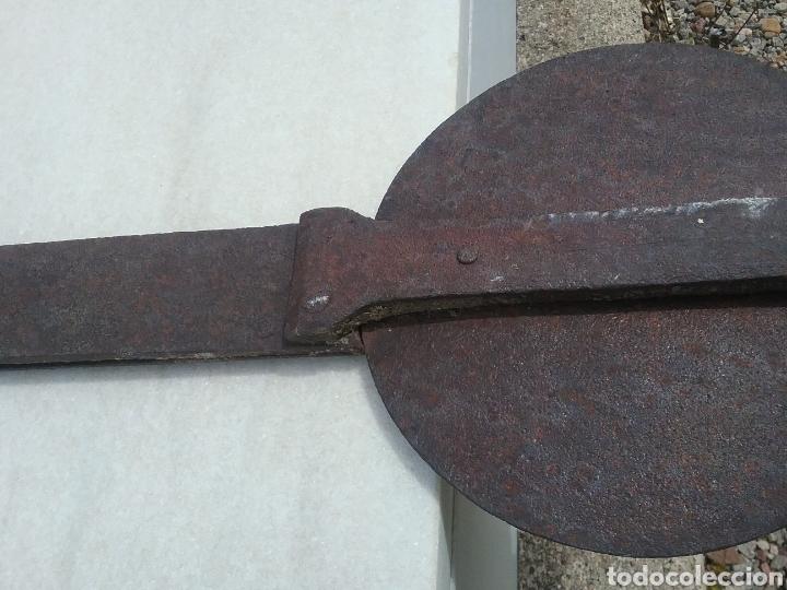 Antigüedades: Antigua cruz de forja. - Foto 5 - 178187471
