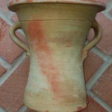 Antigüedades: ANTIGUA PRECIOSA CUBETA CERÁMICA DE LAVADERO UBEDA. Lote 160339632
