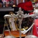 Antigüedades: PEQUEÑA BALANZA METAL. Lote 160340202