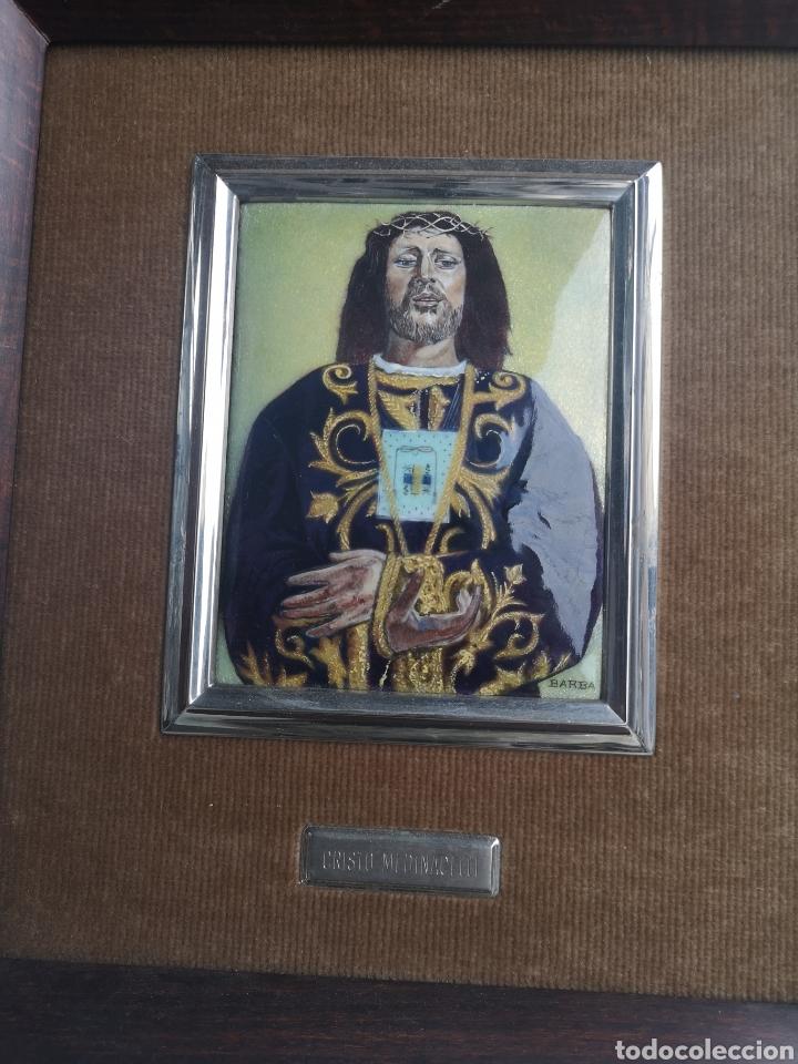 Antigüedades: Cuadro esmaltado - Foto 2 - 160346149